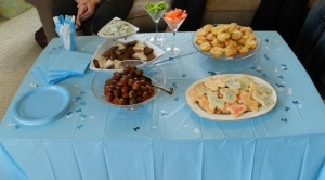 Spinach Dip, Meatballs, Macaroni and Cheese Cupcakes, Roll-out Cookies