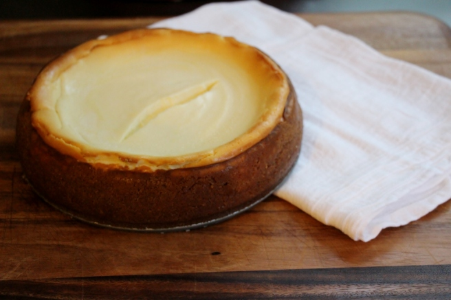 Goat Cheese Cheesecake 1
