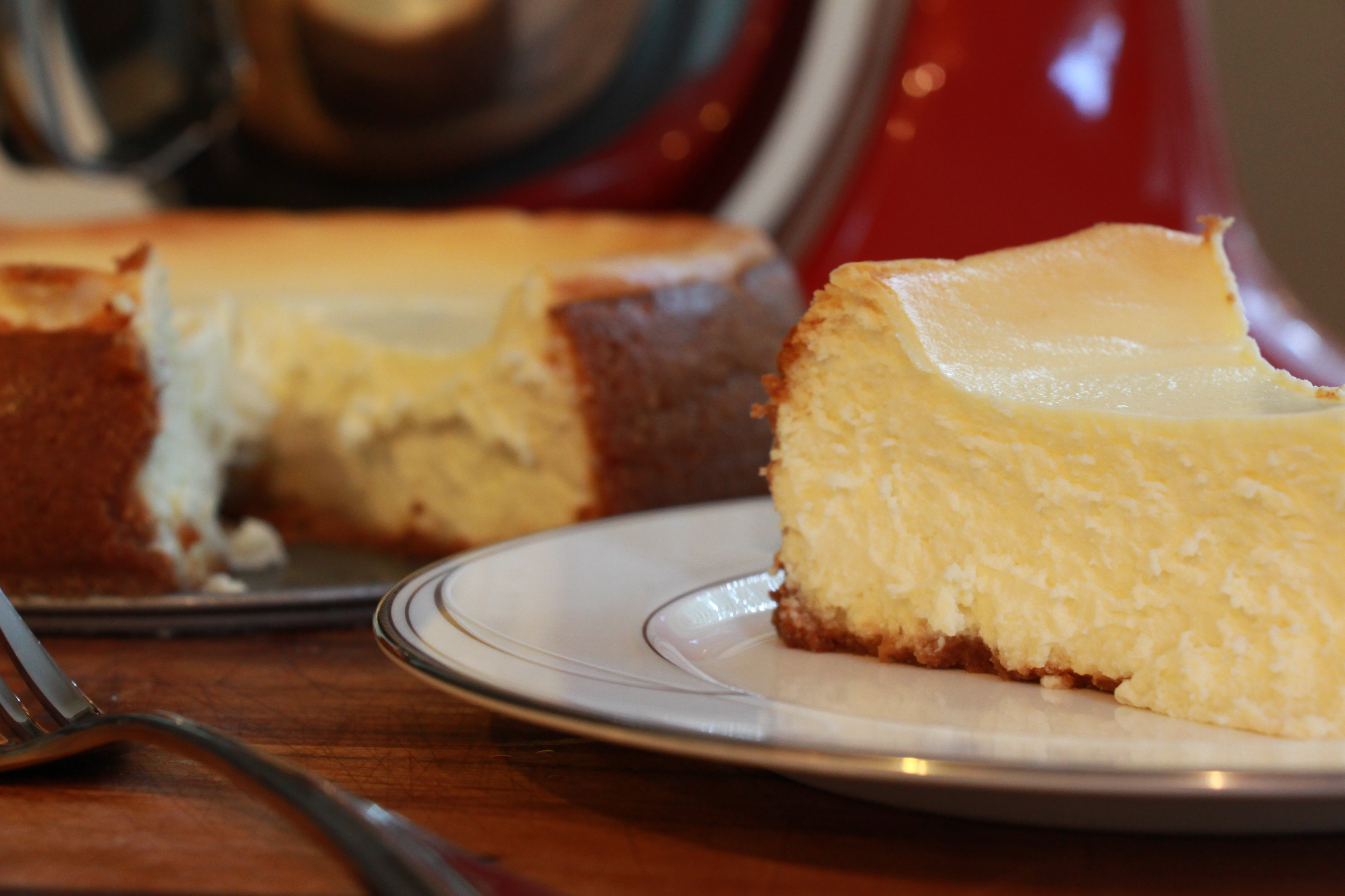 Goat Cheese Cheesecake | Sew You Think You Can Cook