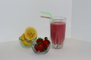 Strawberry Pomegranate Smoothie 1