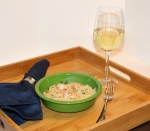 Lemony Shrimp Scampi with Orzo 1