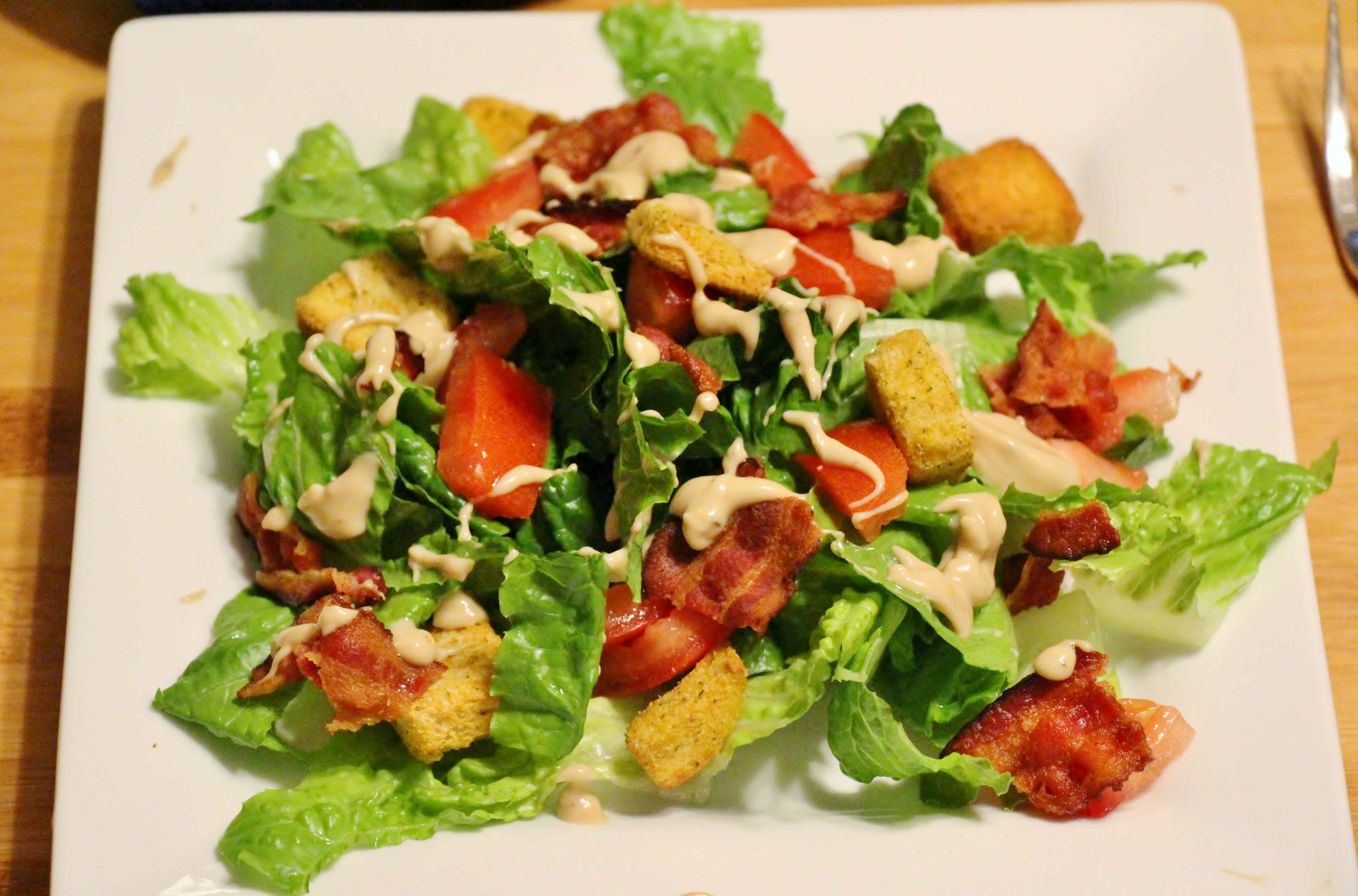BLT Salad | Sew You Think You Can Cook