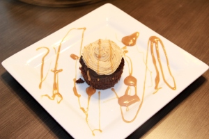 Caramel Filled Chocolate Avocado Cupcakes with Peanut Butter Caramel Frosting 2