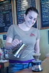 Hand Drip Coffee at Kona de Pele