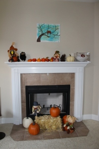 Fall Mantle | Sew You Think You Can Cook