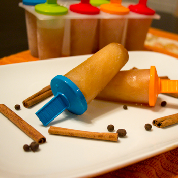 Spiced Apple Popsicles 2