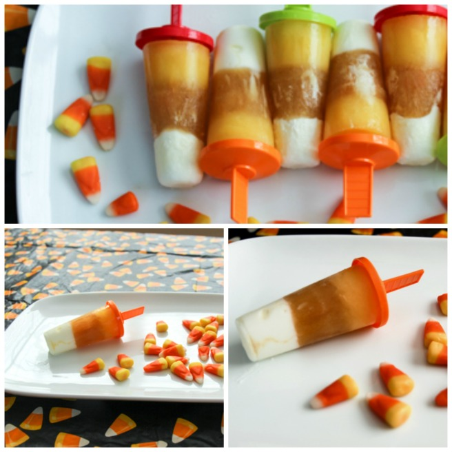 Candy Corn Popsicles 2
