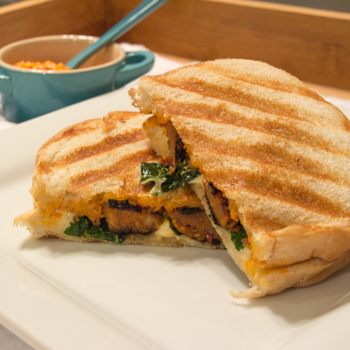 Italian Sausage and Red Pepper Pesto Panini | Sew You Think You Can ...