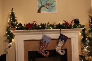 My Christmas Mantle