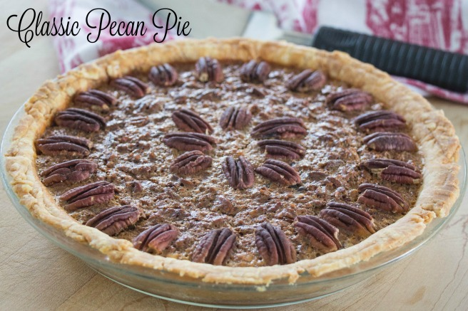 Classic Pecan Pie | Sew You Think You Can Cook | http://sewyouthinkyoucancook.com