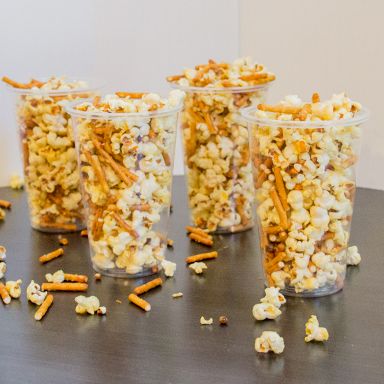Mustard Pretzel Popcorn | Sew You Think You Can Cook