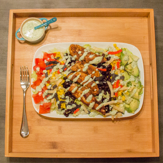 Protein Packed Southwestern Salad 3