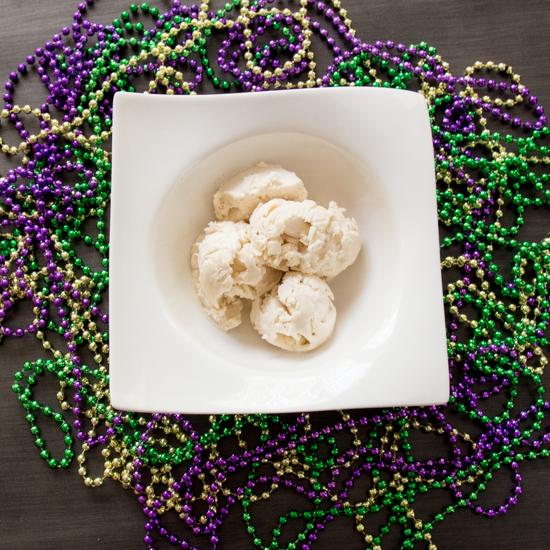 Mardi Gras Ice Cream