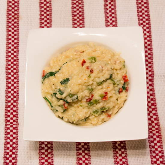 Sun-dried Tomato Risotto 1