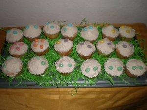 2011 Easter Cupcake Landscape