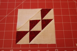 Corn and Beans Quilt Block Tutorial