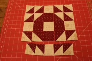 Honey Honey Layer Cake Quilt Block Tutorial