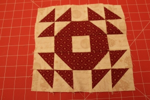Honey Honey Layer Cake Quilt Block