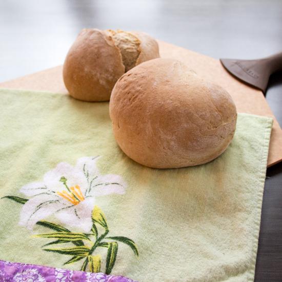 Honey Coriander Manna Bread