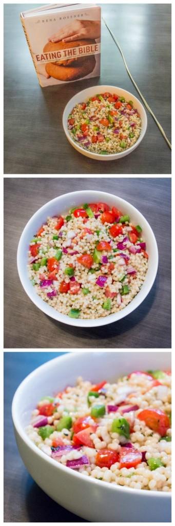 Red Wine Israeli Couscous Salad