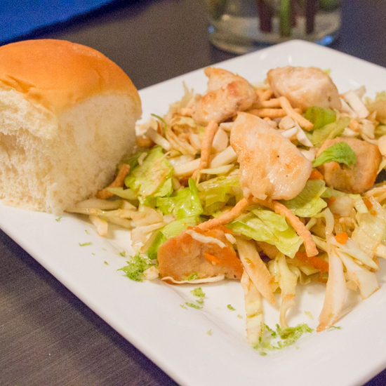 Asian Chicken Salad | Sew You Think You Can Cook