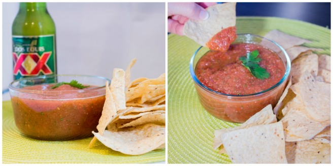 Spicy Blender Salsa