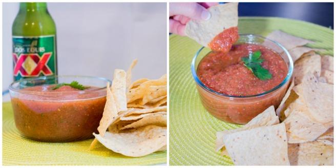 Spicy Blender Salsa