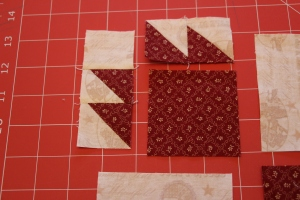 Bears Paw Quilt Block Tutorial