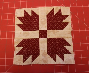 Bear's Paw Quilt Block Tutorial