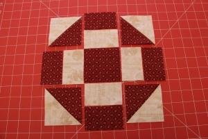 Grecian Square Quilt Block Tutorial