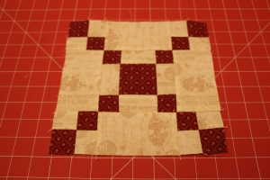 8-Grid Chain Variation Quilt Block Tutorial