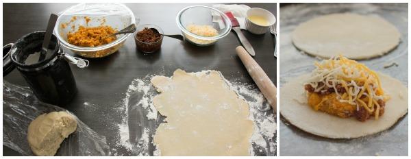 Sweet Potato and Chorizo Hand Pies 1