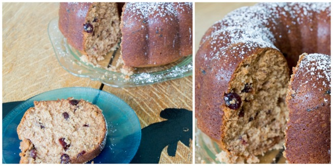 Applesauce Cranberry Bundt