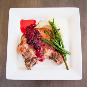 Red and Blue Berry Sauce
