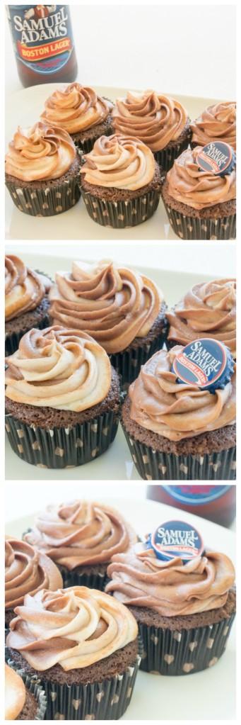 Sam Adams Cupcakes