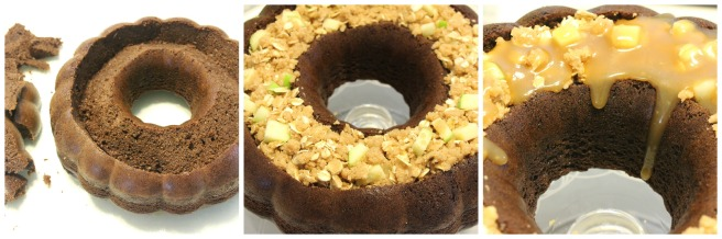Chocolate Caramel Apple Bundt 1