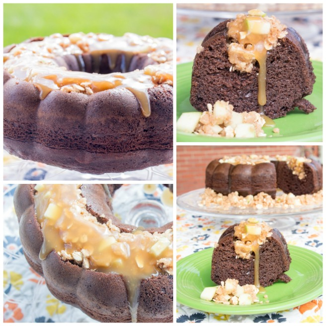 Chocolate Caramel Apple Bundt 2