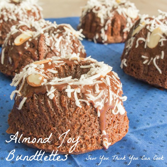 Almond Joy Bundts | Sew You Think You Can Cook