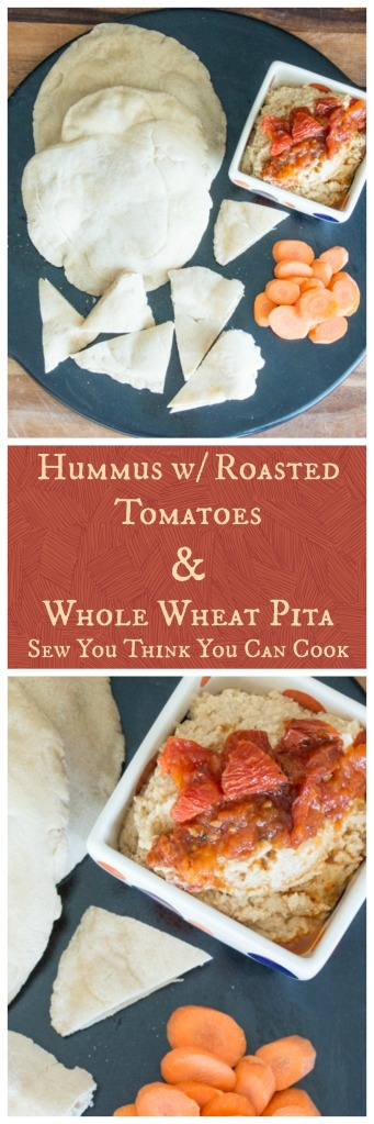 Hummus & Pita | Sew You Think You Can Cook
