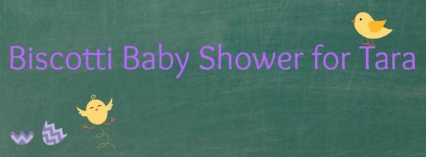Biscotti Baby Shower