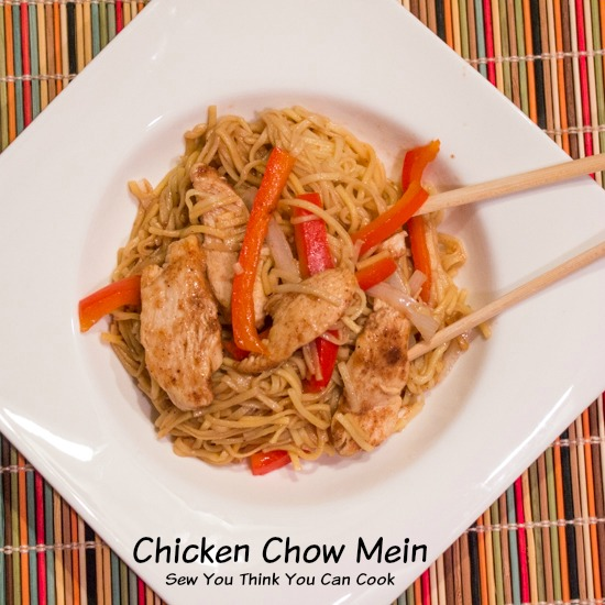 Chicken Chow Mein | Sew You Think You Can Cook