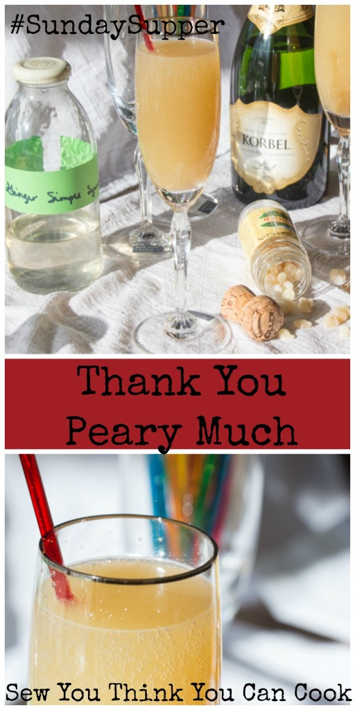 Thank You Peary Much | Sew You Think You Can Cook