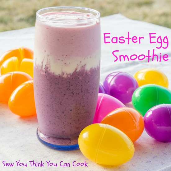 Easter Egg Smoothie | Sew You Think You Can Cook