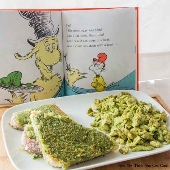 Green Eggs and Ham | Sew You Think You Can Cook