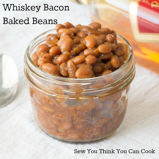 Whiskey Bacon Baked Beans | Sew You Think You Can Cook