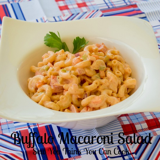 Buffalo Macaroni Salad | Sew You Think You Can Cook