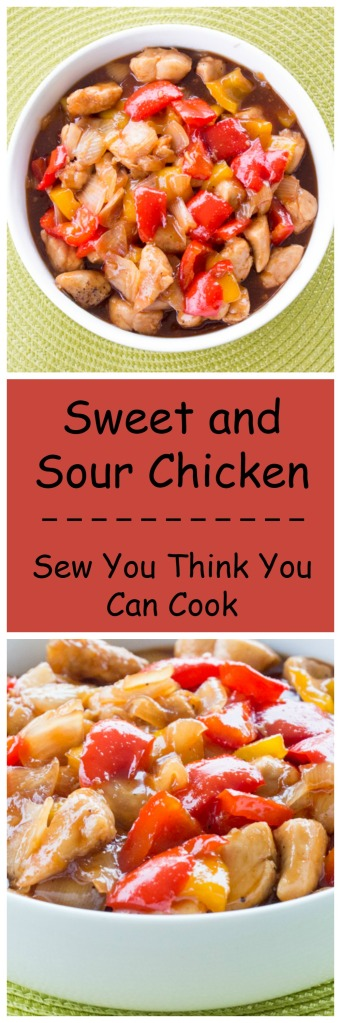 Sweet and Sour Chicken | Sew You Think You Can Cook