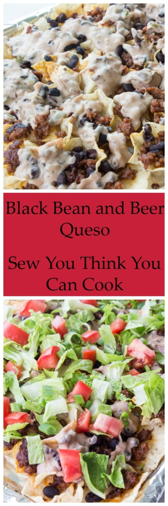 Black Bean and Beer Queso | Sew You Think You Can Cook