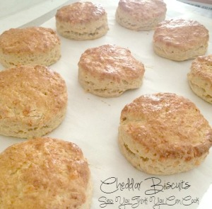 cheddar biscuits from sew you think you can cook for #brunchweek