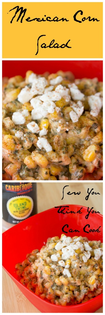 Mexican Corn Salad for #HotSummerEats from Sew You Think You Can Cook